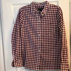 Banana Republic Plaid, Long sleeve button up